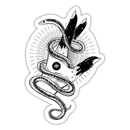 Kundalini Hand Snake - Sticker
