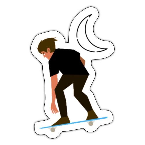 Apollo Skate (style A) - Sticker