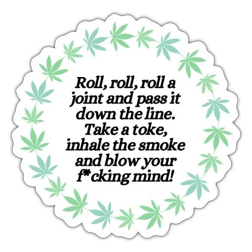 Roll On - Sticker