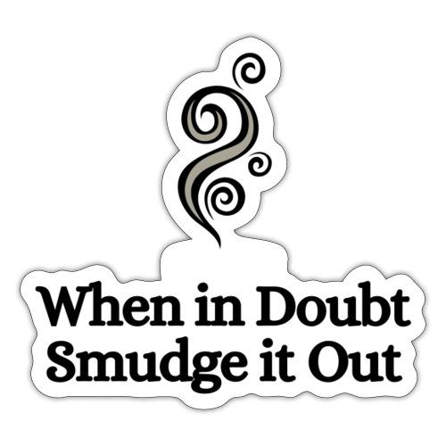 Smudge - Sticker