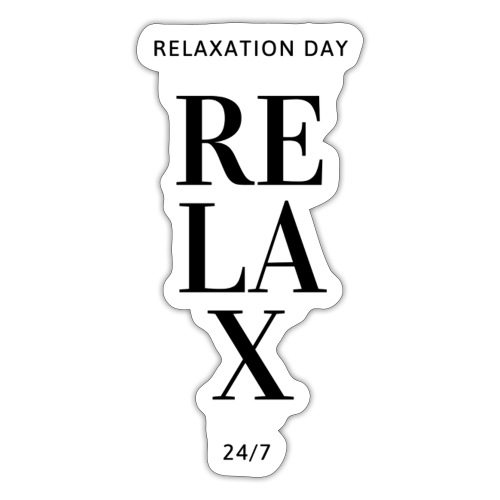 Relaxation day - Sticker