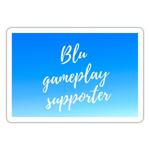Blu gameplay supporter - Sticker