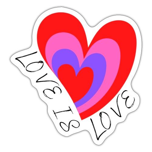 LOVE IS LOVE - Sticker