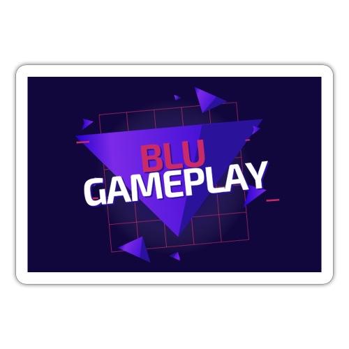 Retro Blu Gameplay - Sticker