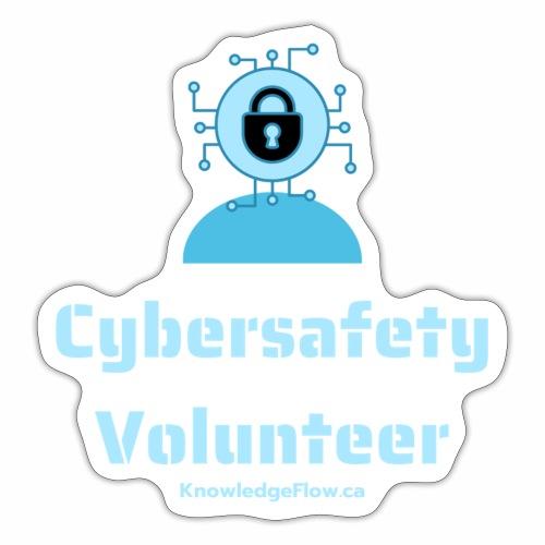 Cybersafety Volunteer - Sticker