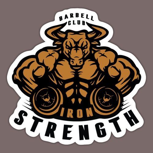 Gold Fill Bull - Sticker