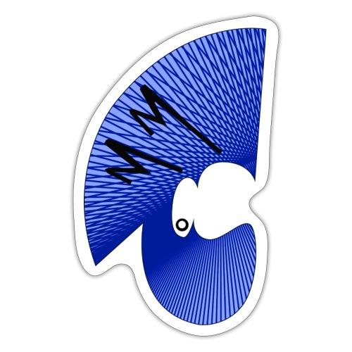 Matty Mohawk Logo - Sticker