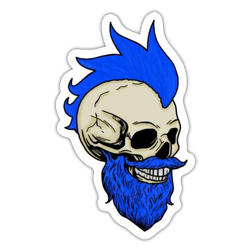 Matty Mohawk Skull - Sticker