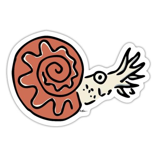 Ammonite - Sticker