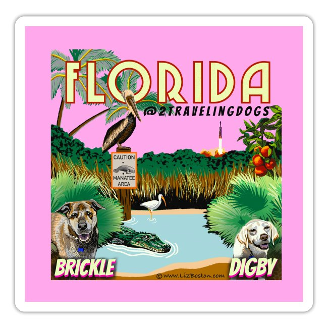 2 Traveling Dogs Florida
