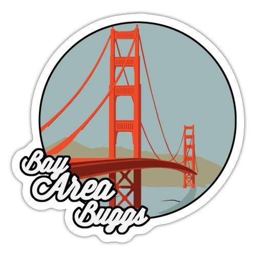 Bay Area Buggs Bridge Design - Sticker