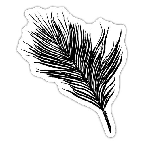 Delicate Feather - Sticker