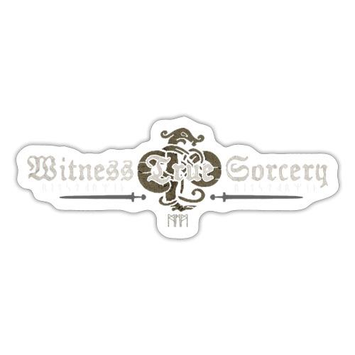 Witness True Sorcery Logo - Sticker