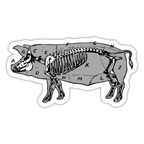 Puerco - Sticker