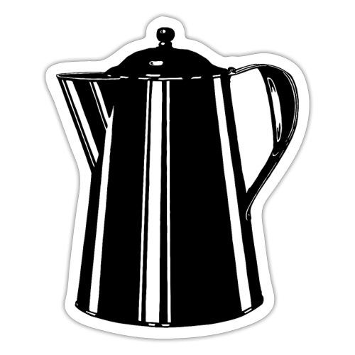 Coffee Pot - Sticker