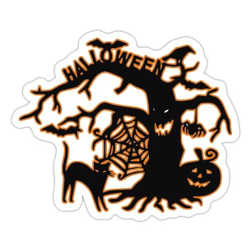 Halloween tree - Sticker