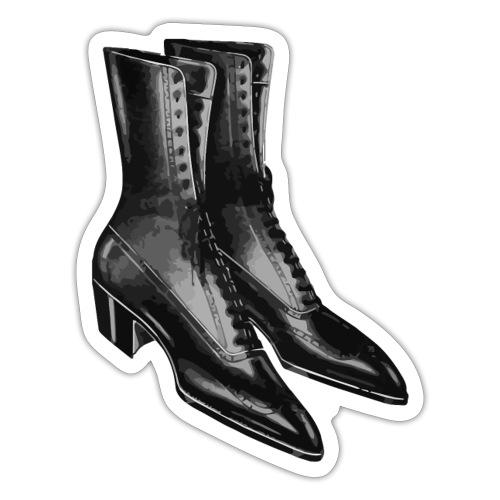 Zapatos Negros - Sticker