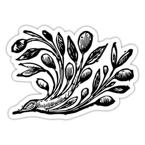 Decorative Bough - Branch Motif - Sticker