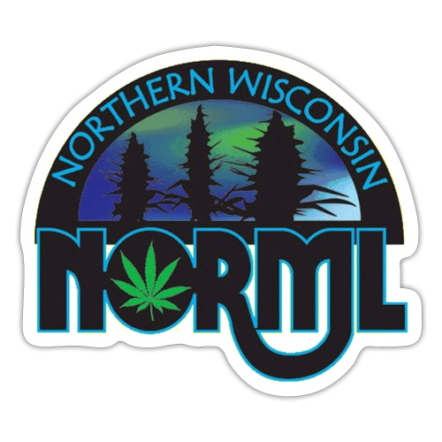 Northern Wisconsin NORML Official Logo - Sticker