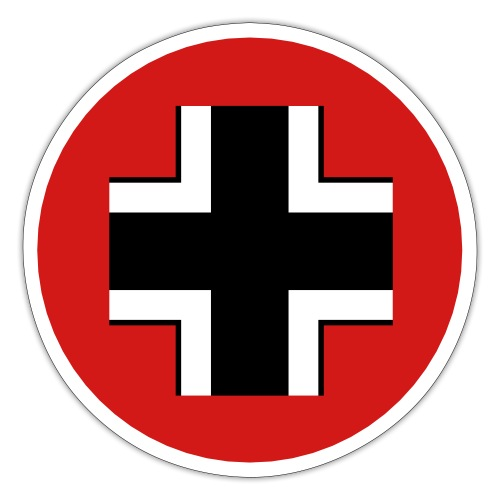 Germany Symbol - Axis & Allies - Sticker