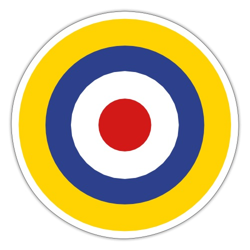 UK Symbol - Axis & Allies - Sticker