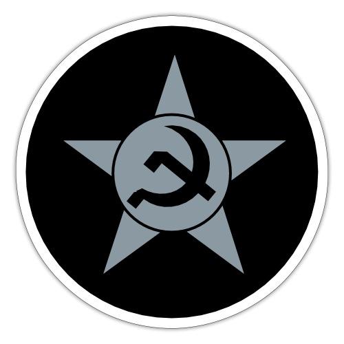 Soviet Union Symbol (dark) - Axis & Allies - Sticker
