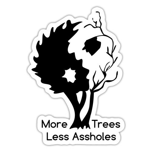 Yin Yang tree MTLA - Sticker