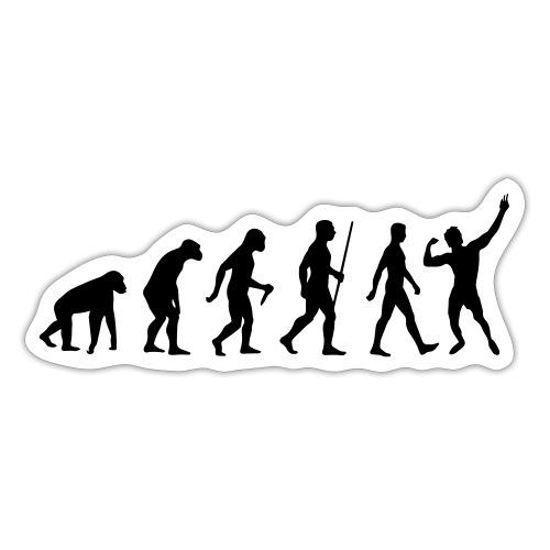 Evolution of Zyzz - Sticker