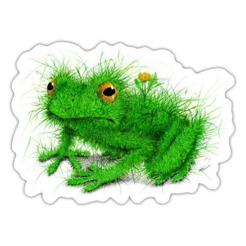 Grass Frog - Sticker