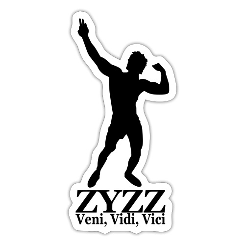 Zyzz Veni Vidi Vici - Sticker