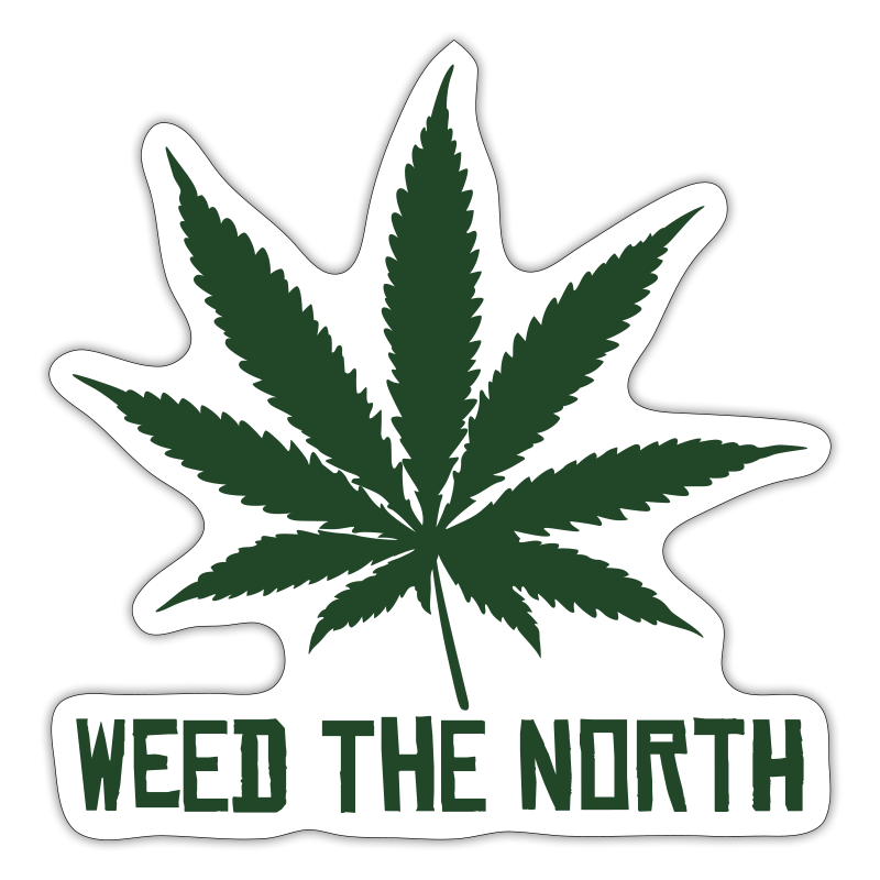 Weed The North - Sticker