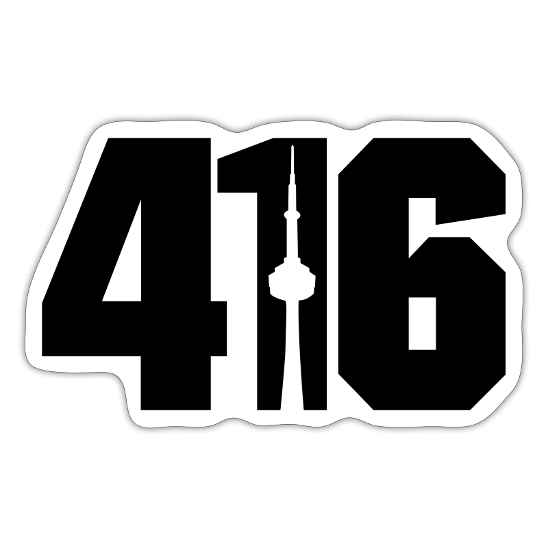 416 Skyline - Sticker