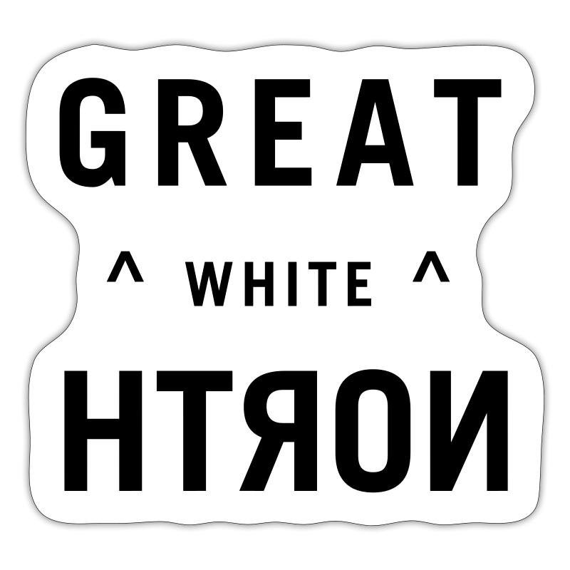 Great White North - Sticker