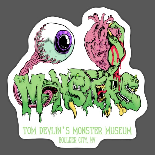 Eye Heart Monsters - Sticker