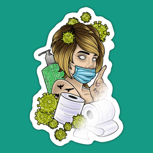 COVID Karen - Sticker