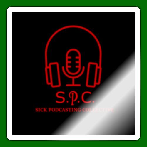 SPC Logo Black/Red - Sticker