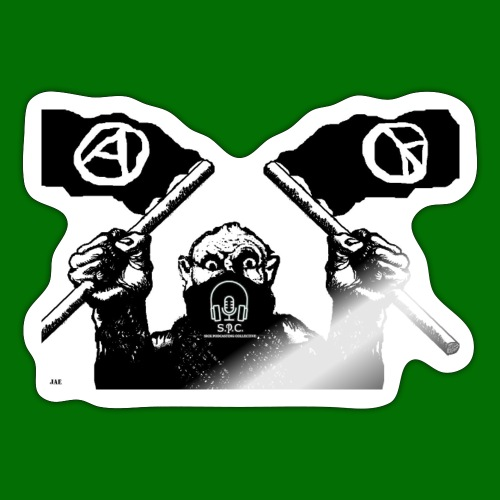 anarchy and peace - Sticker