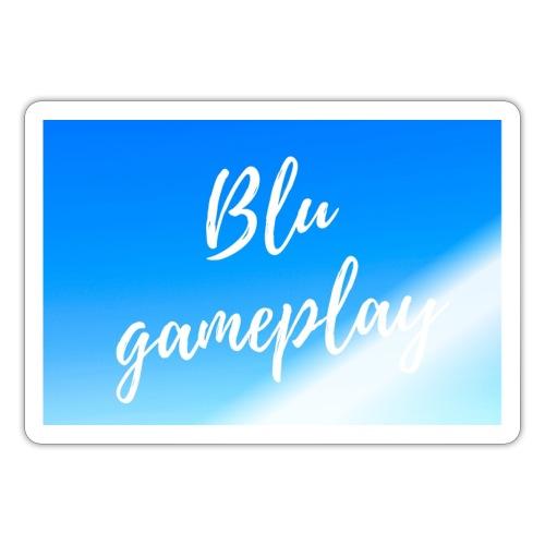 Blu Gameplay sticker - Sticker