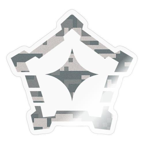 digital camo png - Sticker