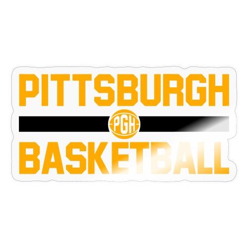 pgh basketball - Sticker