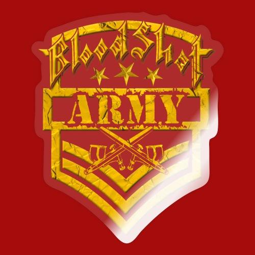 BloodShot ARMY Logo - Sticker