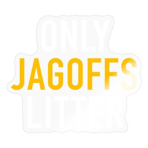 only jags litter - Sticker