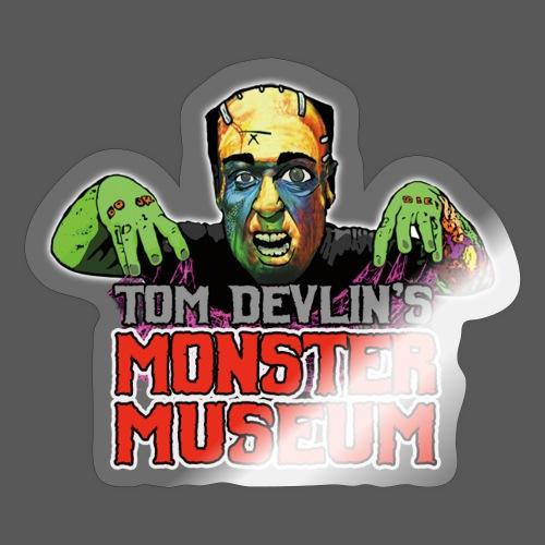 Monster Museum Logo - Sticker