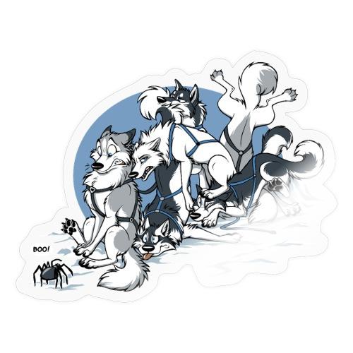 Spiders in Alaska - Sticker