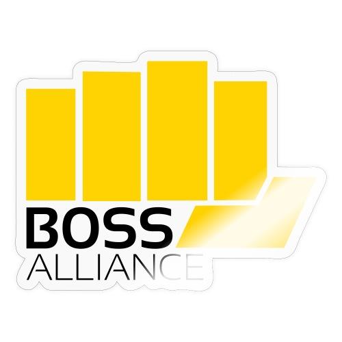 BOSS Logo - No Circle - Black Text - Sticker