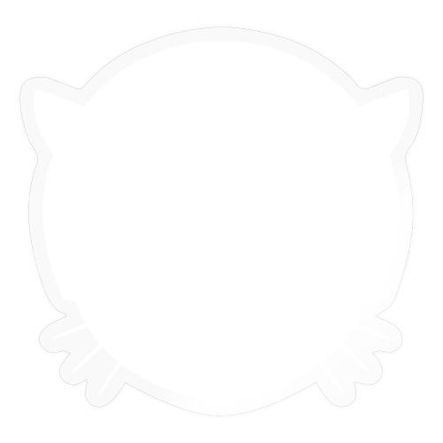 Musetta Minimal White collection - Sticker