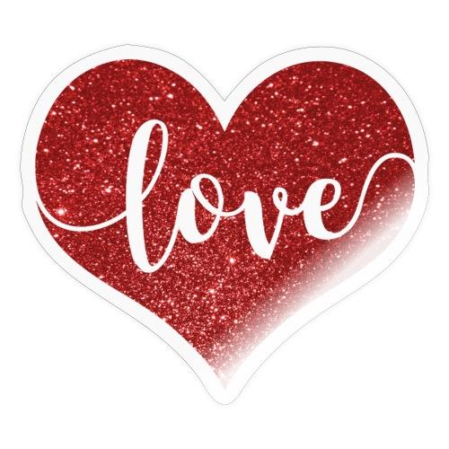 Heart Love - Sticker