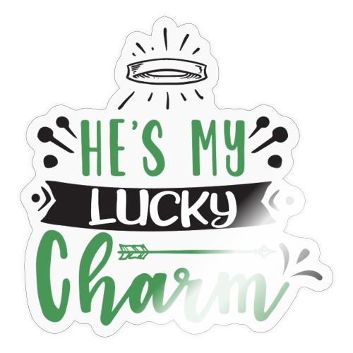 He's My Lucky Charm - Sticker
