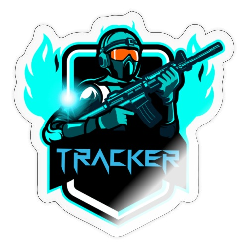 TrackerYT Merch - Sticker