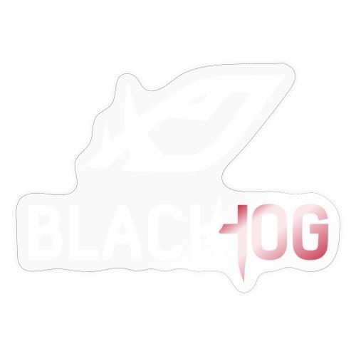 BH Logo white - Sticker